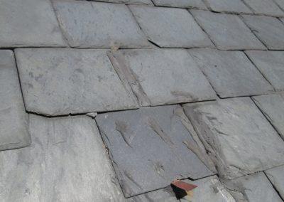 poor slate roof repair