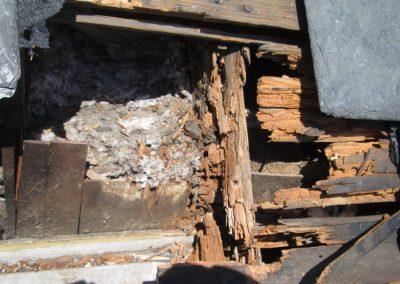 slate roof damage revealed